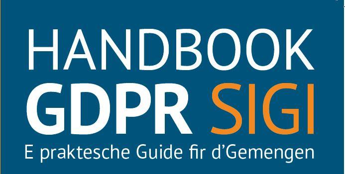 Communiqué de Presse Handbook GDPR