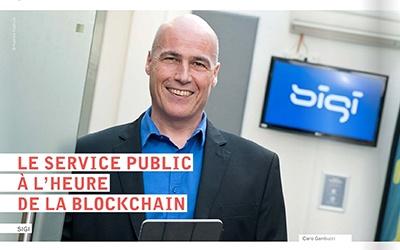Le service public à l'heure de la blockchain