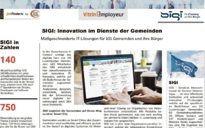 « SIGI: Innovation im Dienste der Gemeinden »